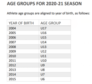 Age Groups 2020.2021